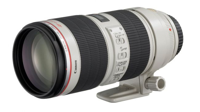 Canon 70-200mm F2.8 IS Mark II