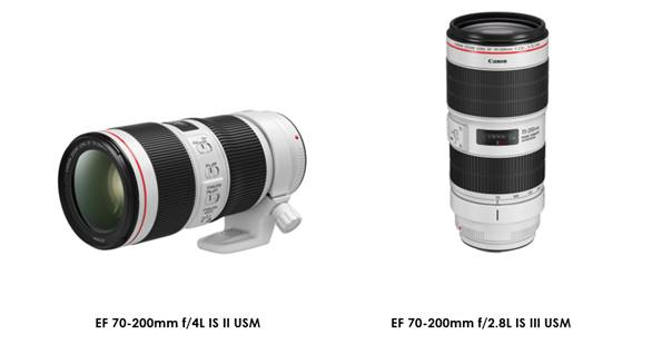 Canon upgrades the keystone of a photographer's kit bag – the popular 70-200mm L-series lens