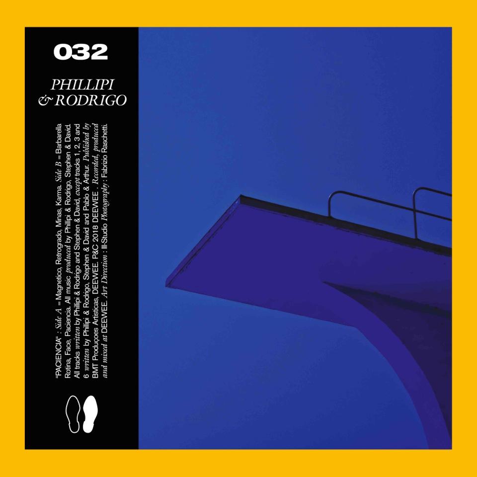 DEEWEE032_Phillipi & Rodrigo_Paciencia_Album_packshot