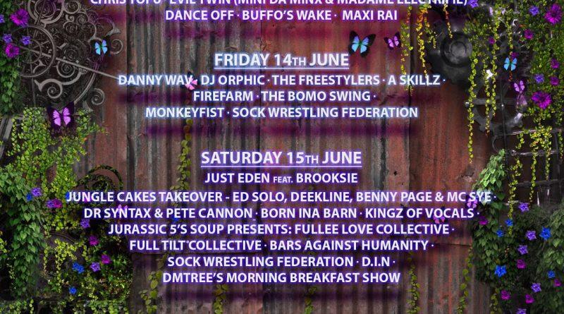 Isle of Wight Festival - Cirque De La Quirk and Kashmir Café